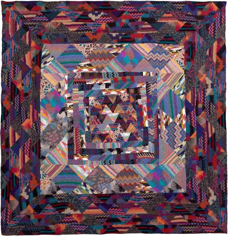 Missoni Art Colour at the Fashion and Textile Museum_missoni-arazzo-209x202