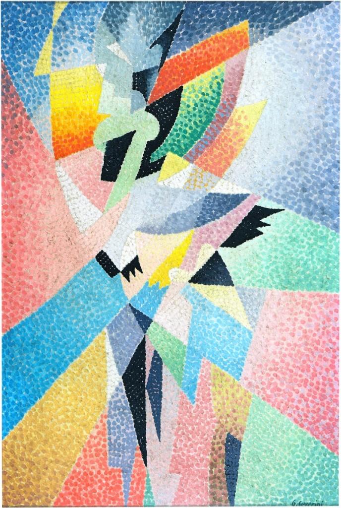 Missoni Art Colour at the Fashion and Textile Museum_severini-ballerina-1957