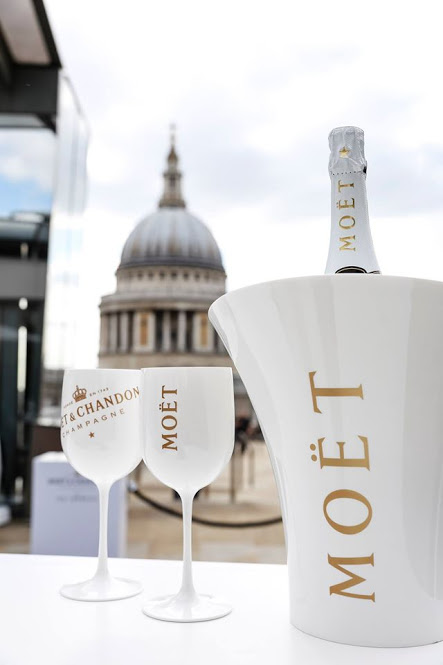 Moët Ice Impérial summer rooftop pop-up - Bompass and parr