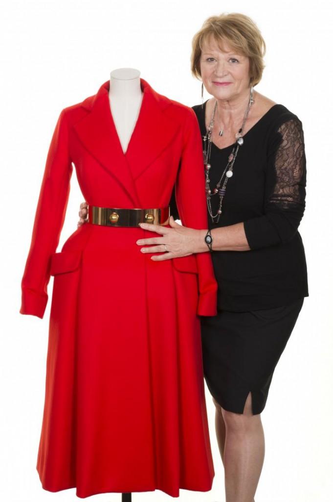 Monique Bailly, Première d'atelier tailleur, Christian Dior Couture