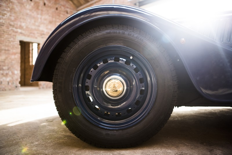Morgan Motor Company - 80th44h1-wheels