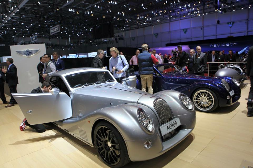 Morgan Motor Company at Geneva Motor Show 2015-2016 Morgan Aero 8 cr