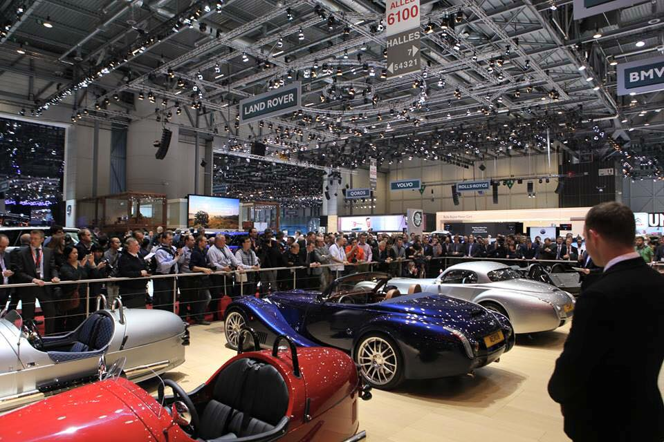 Morgan Motor Company at Geneva Motor Show 2015-2016 Morgan Aero 8 evolved