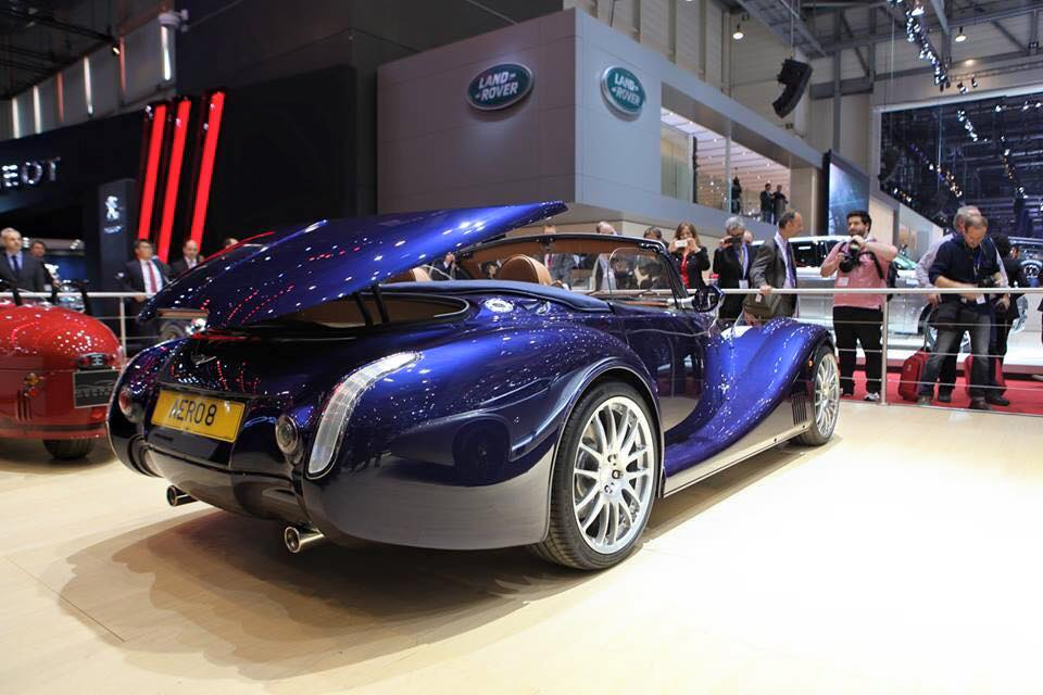 Morgan Motor Company at Geneva Motor Show 2015-2016 Morgan Aero 8
