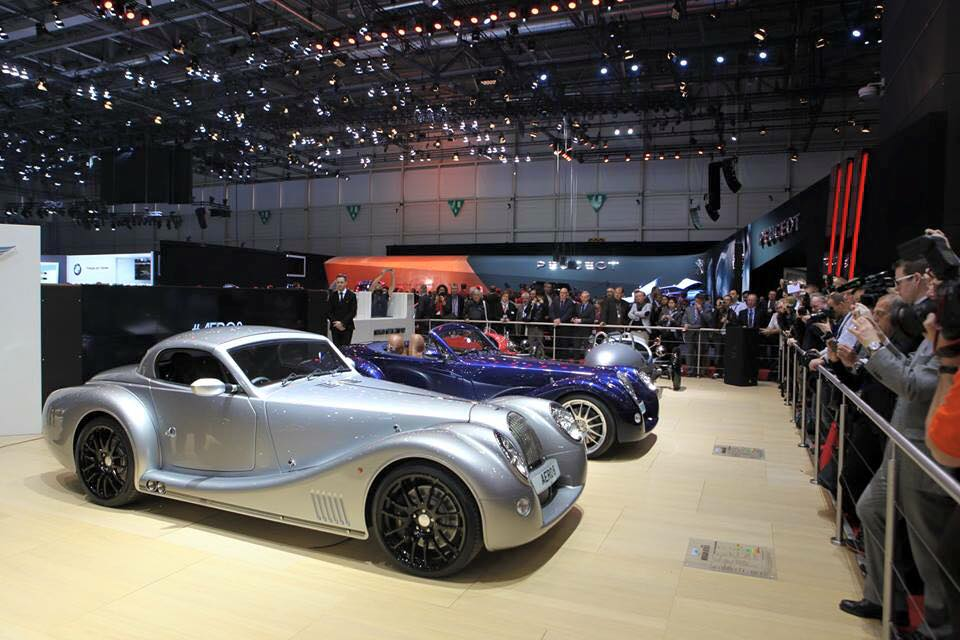 Morgan Motor Company at Geneva Motor Show 2015-press day-