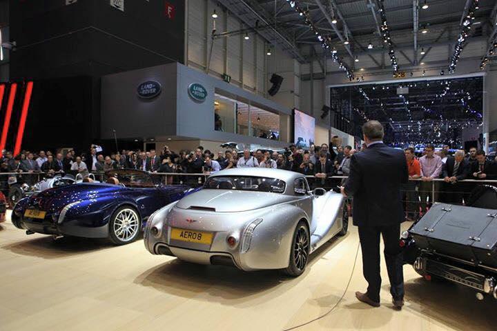 Morgan Motor Company at Geneva Motor Show 2015