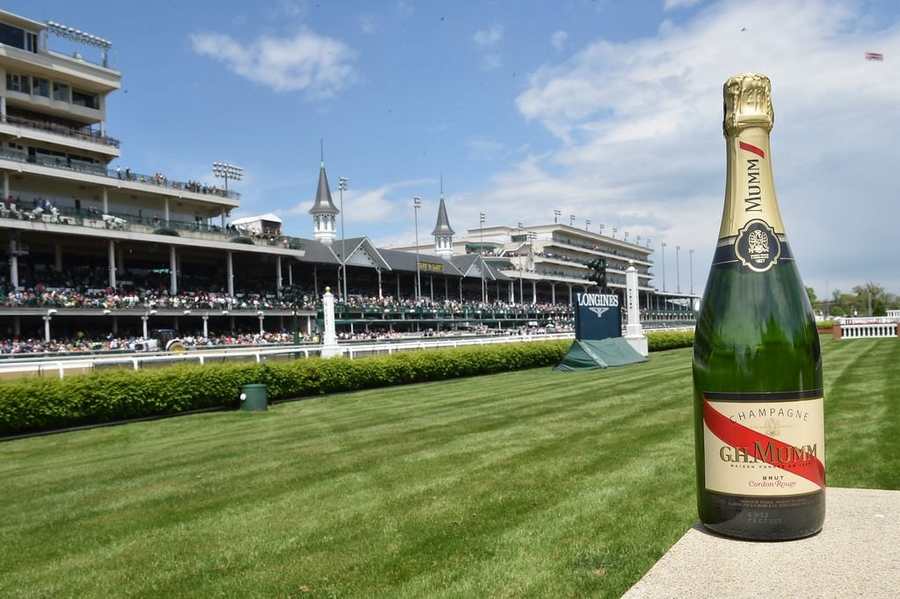 Mumm is the Official Champagne of the Kentucky Derby and Churchill Downs Racetrack
