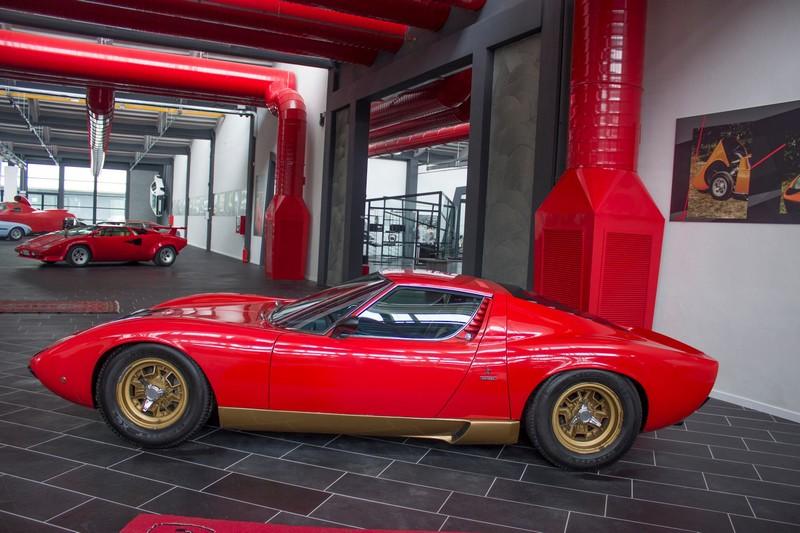 Museo Ferruccio Lamborghini-exponats