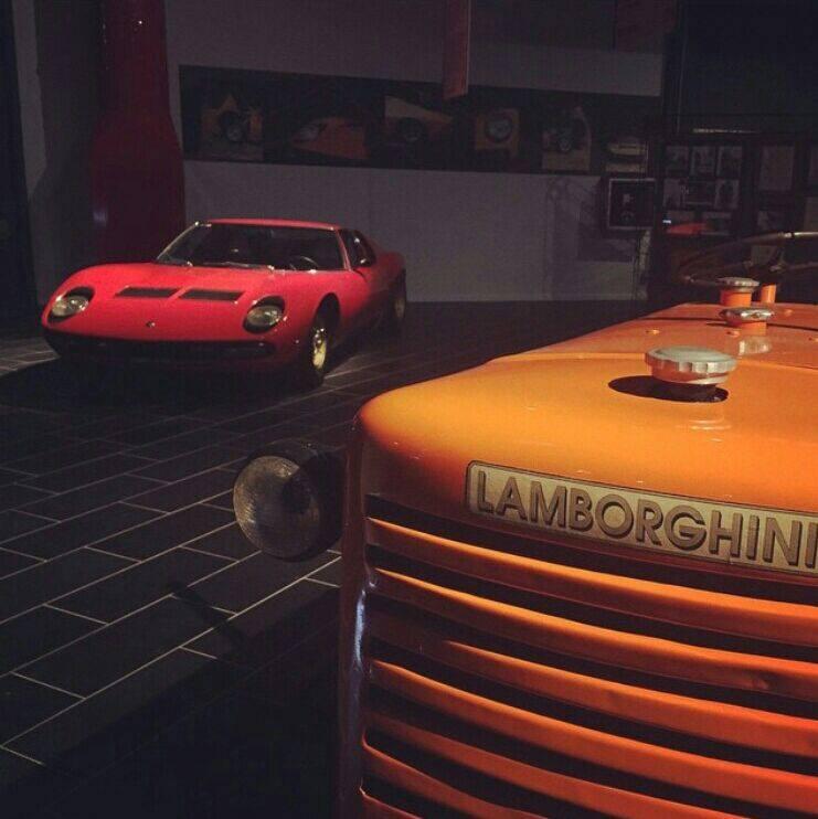 Museo Ferruccio Lamborghini int-