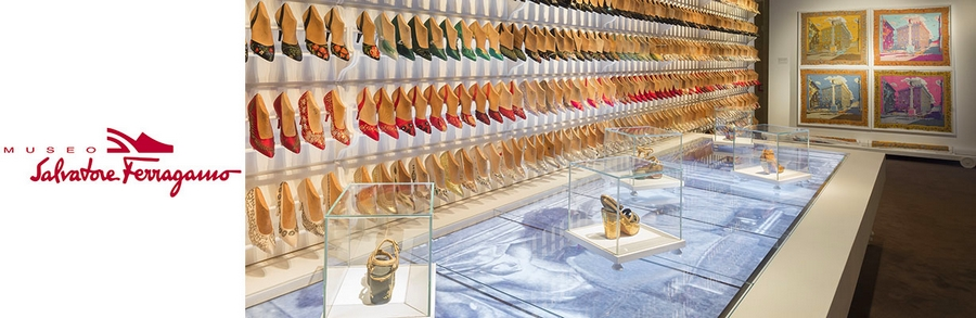 Museo Salvatore Ferragamo A Palace and the City exhibition