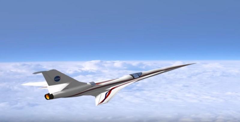 NASA aeronautics research is building Quiet Supersonic X-plane