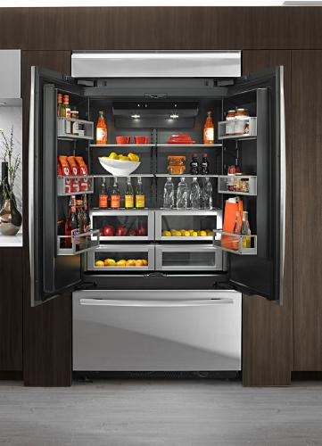 Luxury Inside And Out Obsidian Luxury Refrigerators By