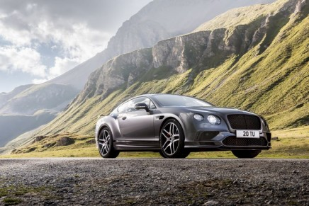 Fastest accelerating Bentley ever: 0-60 mph in 3.4 seconds