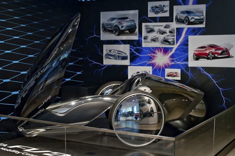 New Toyota Creative Design exhibition showcases some of the brand's most beautiful designs--04