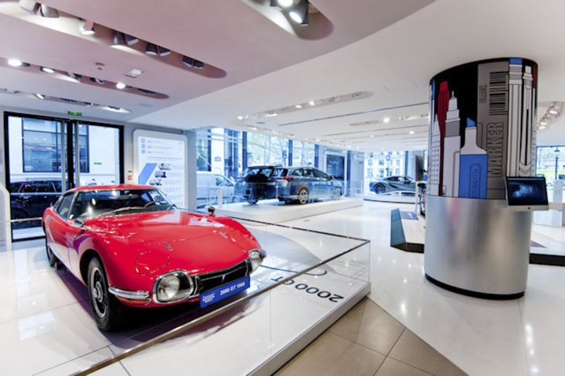 New Toyota Creative Design exhibition showcases some of the brand's most beautiful designs--07