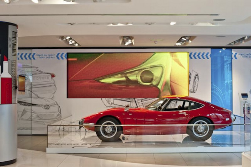 New Toyota Creative Design exhibition showcases some of the brand's most beautiful designs--08