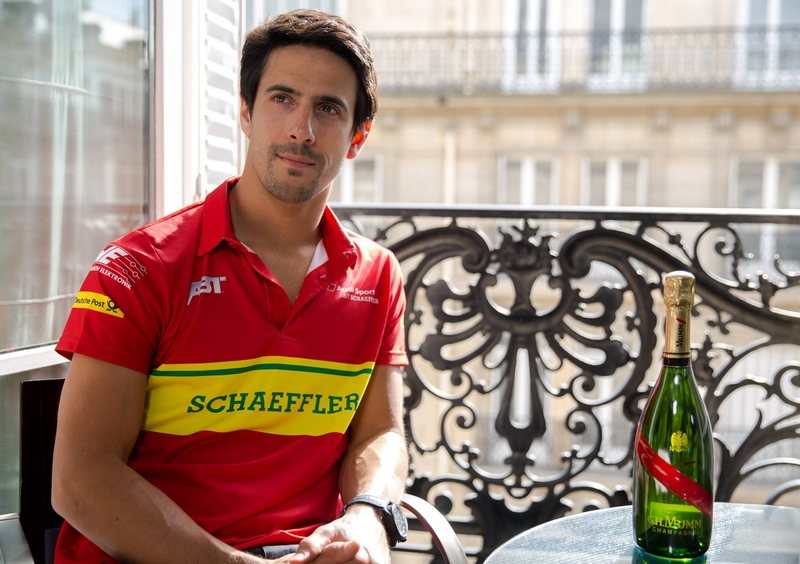 New bottle, new challenges. Preparing with Lucas Di Grassi in Paris
