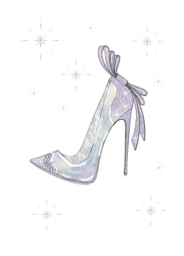 Nicholas Kirkwood Cinderella slipper
