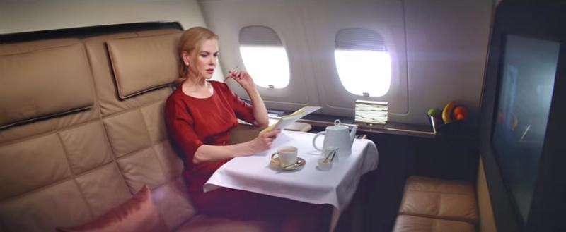 Nicole Kidman Flying Reimagined Etihad Airways - 2015 campaign-