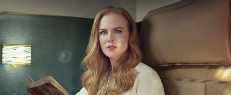 Nicole Kidman Flying Reimagined Etihad Airways - 2015 campaign