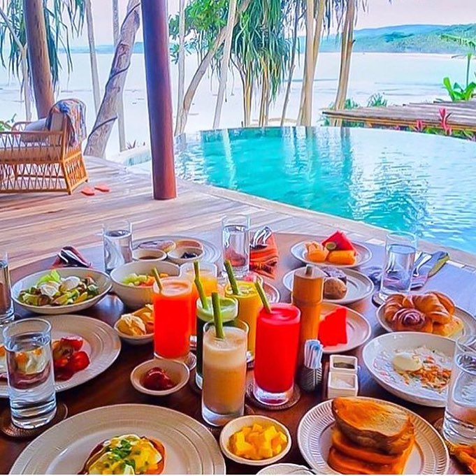 Nihiwatu Resort - Sumba Island-breakfast