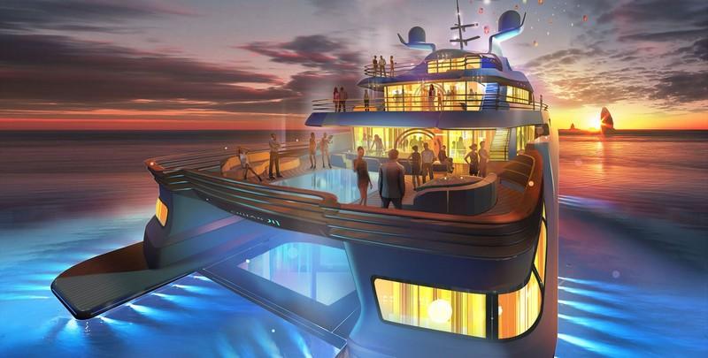 Nobiskrug x Claydon Reeves Radiance superyacht 2015- renderings