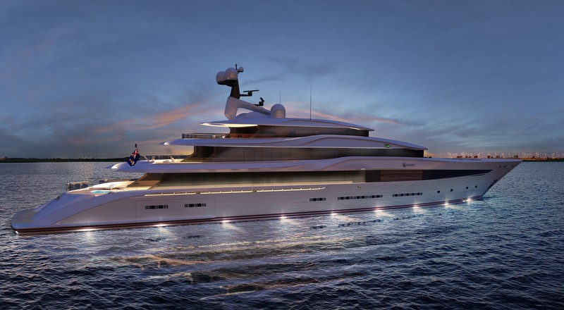 Nobiskrug x Claydon Reeves Radiance superyacht 2015
