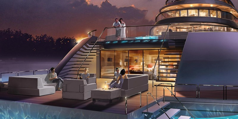Nobiskrug x Claydon Reeves for the 110 meter Radiance superyacht