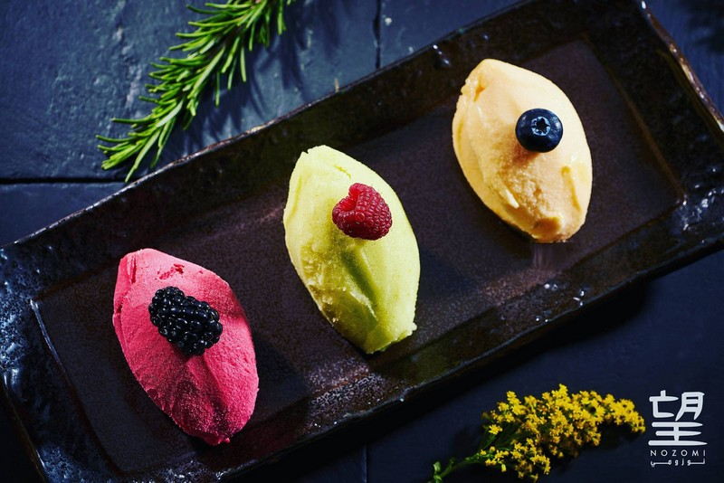 Nozomi Riyadh-Green Apple, White Peach and Raspberry - new additions to the sorbet family- 2luxury2