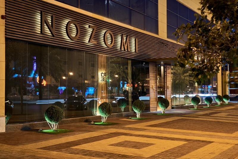 Nozomi Riyadh - best Luxury Restaurant in Saudi Arabia. Interview