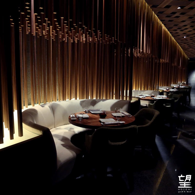 Nozomi - best Luxury Restaurant in Saudi Arabia at Luxury Lifestyle Awards 2016 -interior-