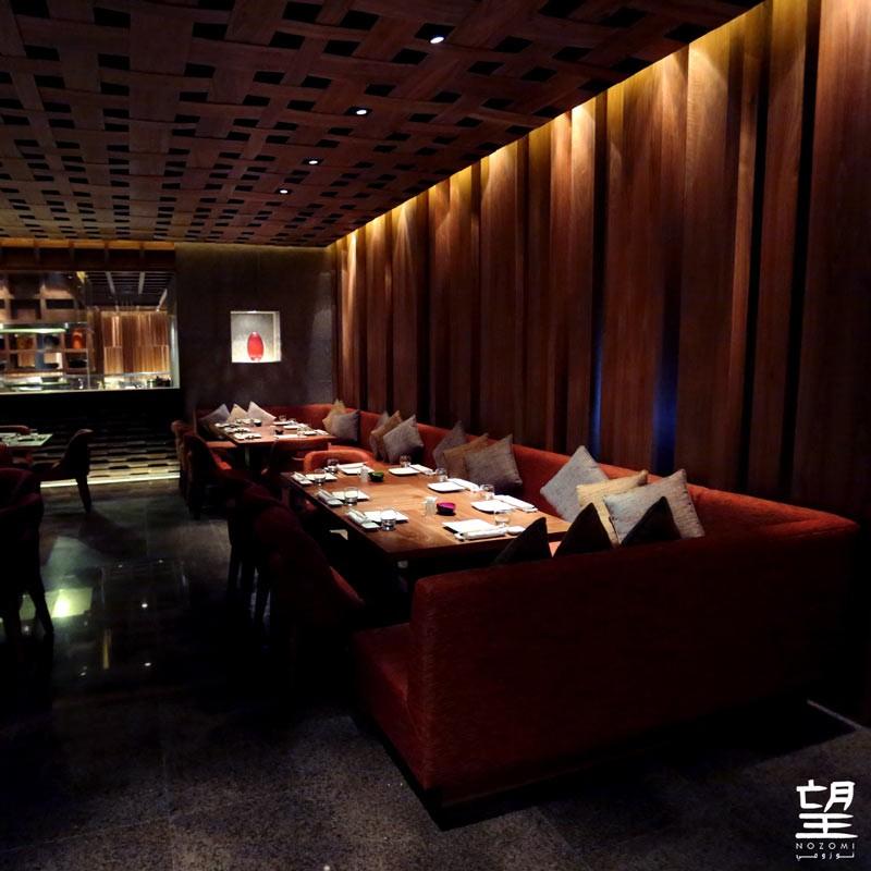 Nozomi - best Luxury Restaurant in Saudi Arabia at Luxury Lifestyle Awards 2016 -interior