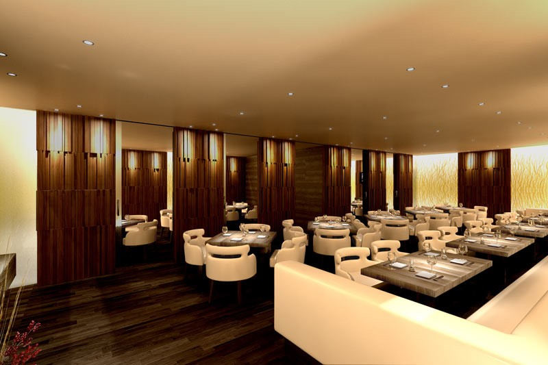 Nozomi - best Luxury Restaurant in Saudi Arabia at Luxury Lifestyle Awards 2016 - restaurant interior-