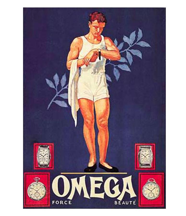 OMEGA Olympic timekeeping -adv Force Beaute