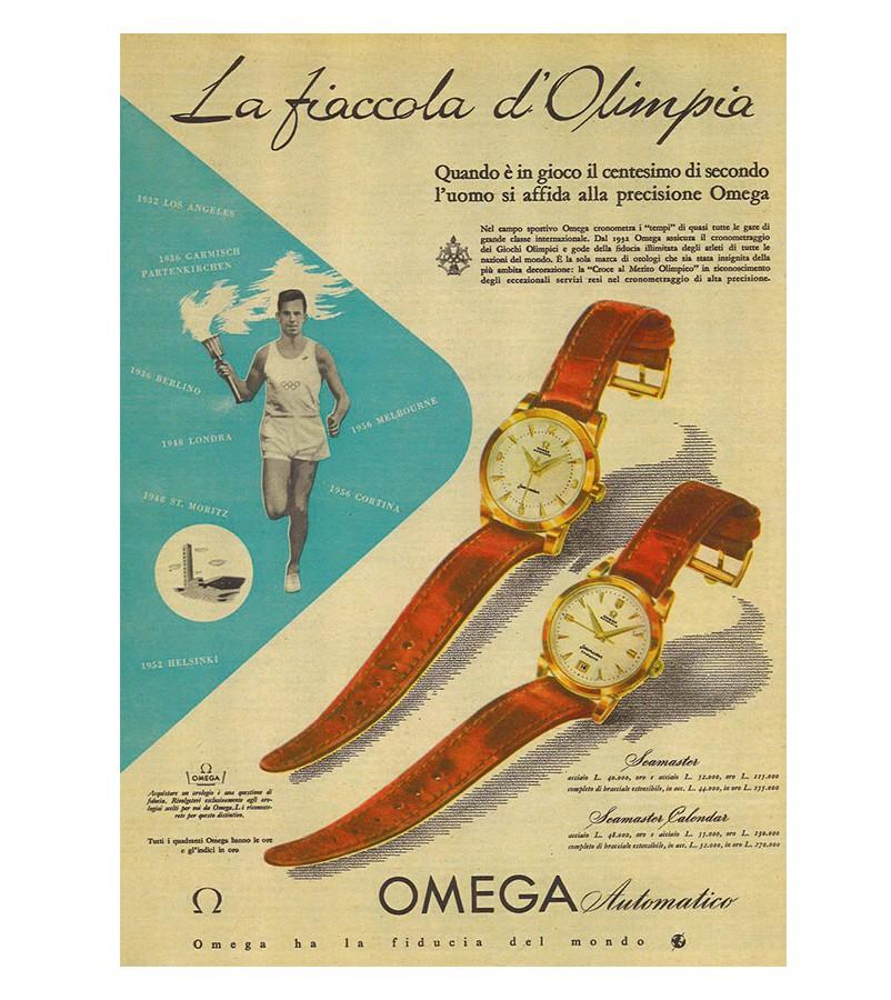 OMEGA Olympic timekeeping-adv