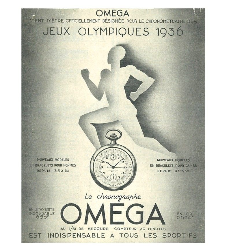 OMEGA Olympic timekeeping - indispansable a tous les sportifs