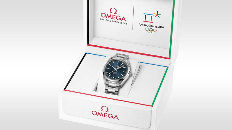 OMEGA Seamaster Aqua Terra PyeongChang 2018 Limited Edition-