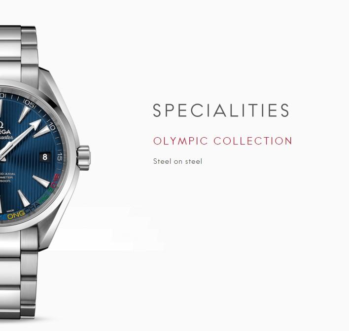 OMEGA Seamaster Aqua Terra PyeongChang 2018 Limited Edition-Specialties Watches