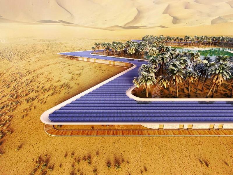 Oasis Eco Resort UAE desert