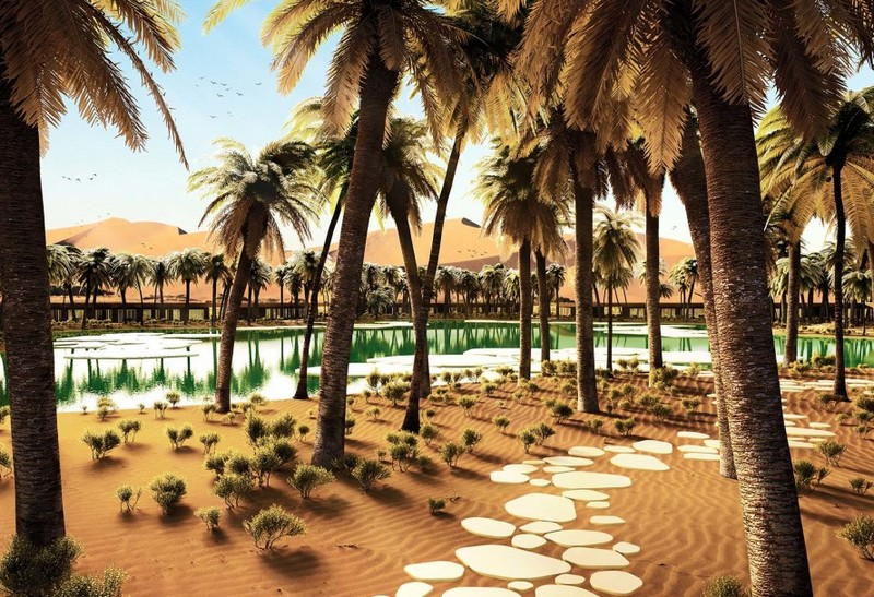 Oasis Eco Resort UAE-the new UAE eco-resort slated for completion in 2020 is striving to be the greenest in the world-