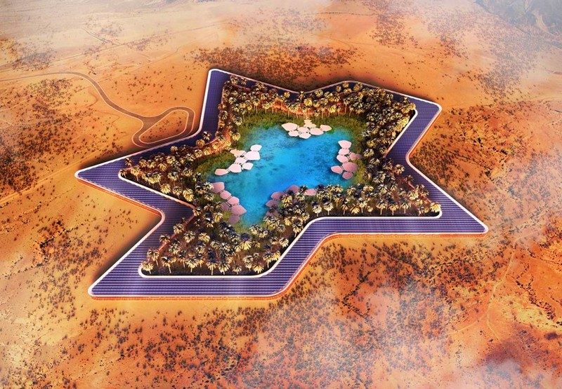 Oasis Eco Resort UAE-the new UAE eco-resort slated for completion in 2020 is striving to be the greenest in the world