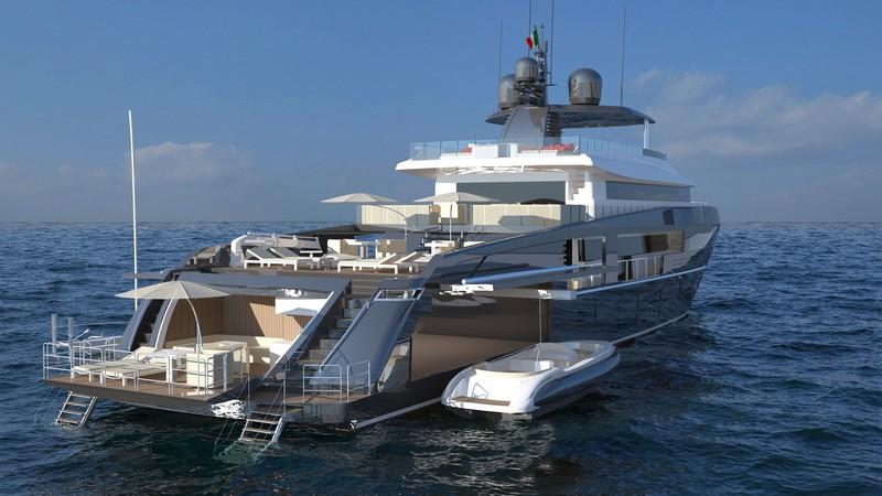 Ocea Yacht Nemo 44--transom