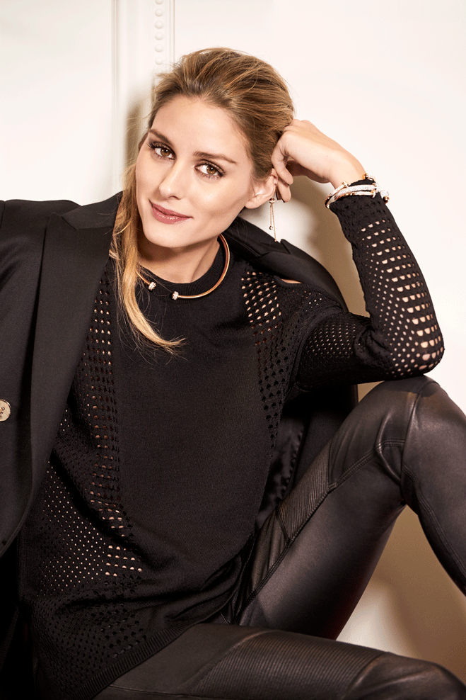 Olivia Palermo for Piaget Posession2016-