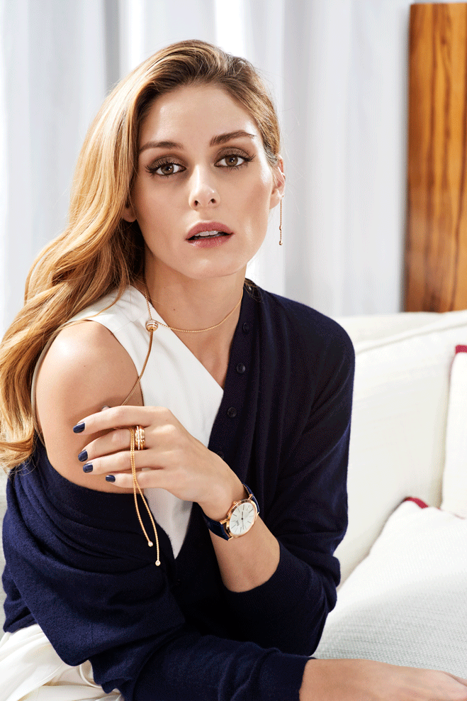 Olivia Palermo for Piaget Posession2016--