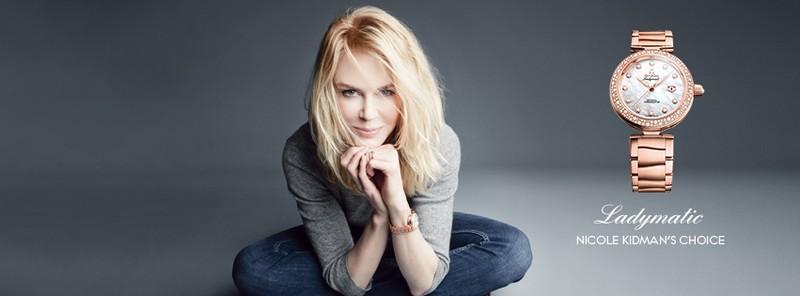 Omega LadyMatic Nicole Kidman 2015 ad