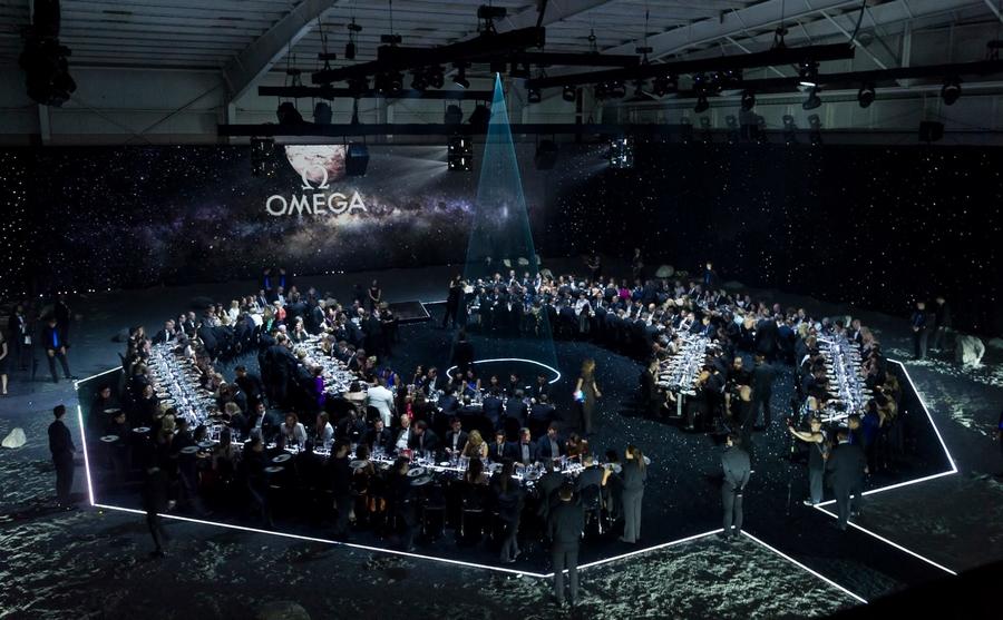 OmegaFirstWatchOnTheMoon 2015 event