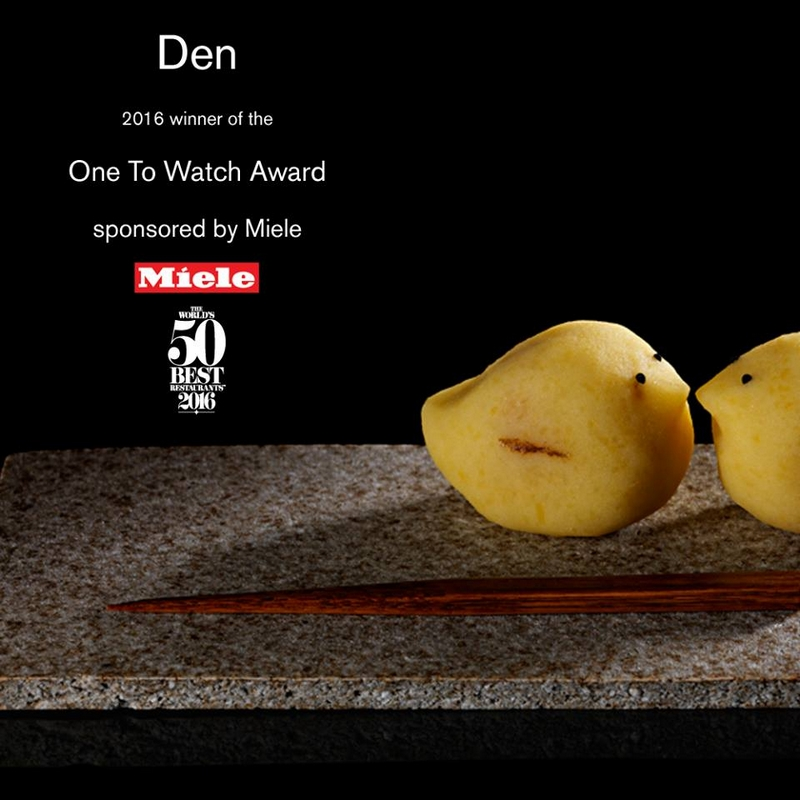 One To Watch Award, sponsored by Miele to Den inTokyo