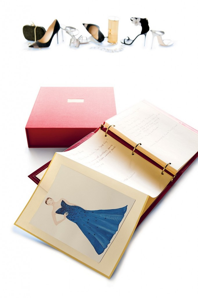 One-of-a-kind COUTURE DIARY by Abigail Vogel