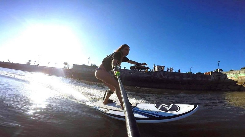 Onean Electric Jetboards-selfie on board