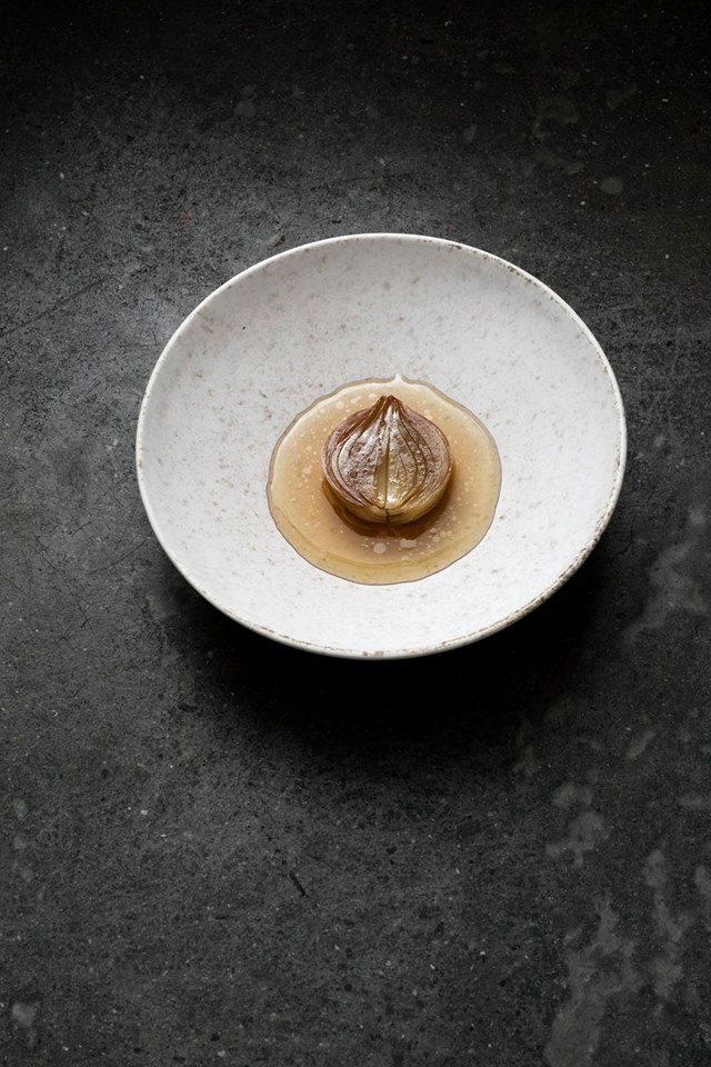 Onion, birch and pine Relae Copenhagen